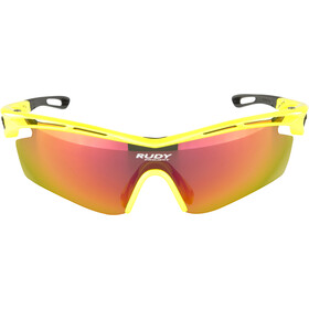 Rudy Project Tralyx SX Lunettes Femme, yellow fluo gloss/multilaser orange
